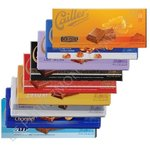 assortiment de 9 tablettes Cailler