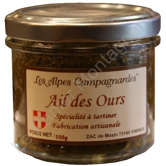 Tartinable Ail des Ours